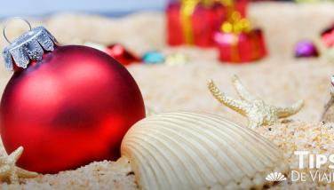 Ventajas de pasar Navidad en la playa