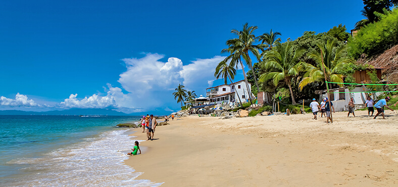 Playa las animas en Puerto Vallarta