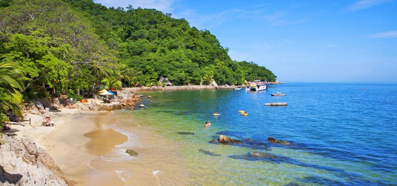 Playa Las Caletas en Puerto Vallarta