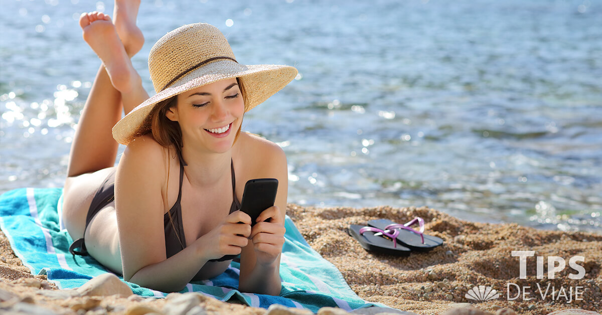 4 aplicaciones originales para playa que tienes que descargar