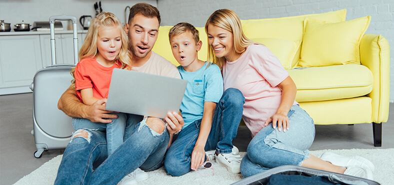 Planifica actividades para toda la familia