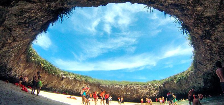 Islas Marietas.